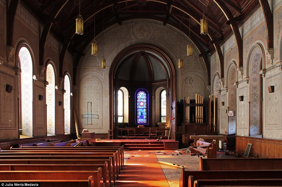 Greystone Park Psychiatric Hospital In New Jersey - Chapel