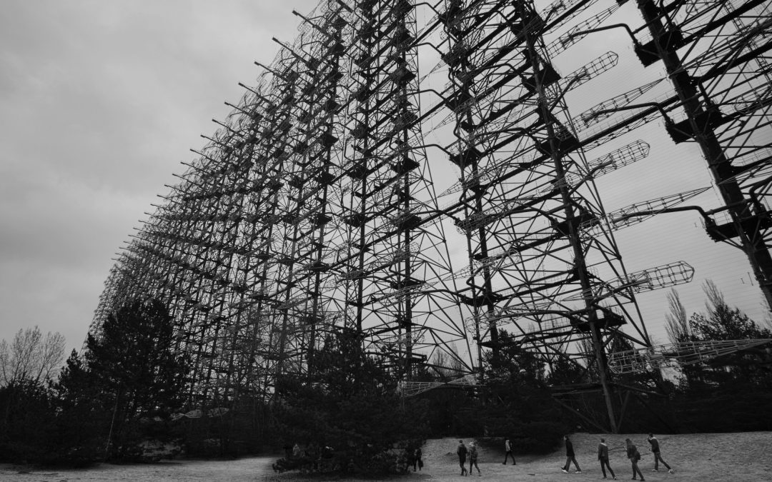 The Huge Secret Soviet Duga-2 Radar Tower In The Woods Of Chernobyl